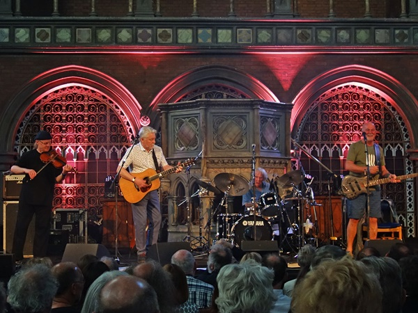 Fairport Convention in der Union Chapel * Foto: Heidrun Richter